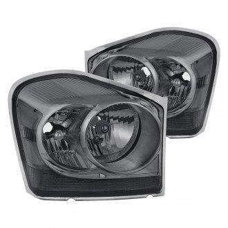 Lumen Black Smoke Factory Style Headlights