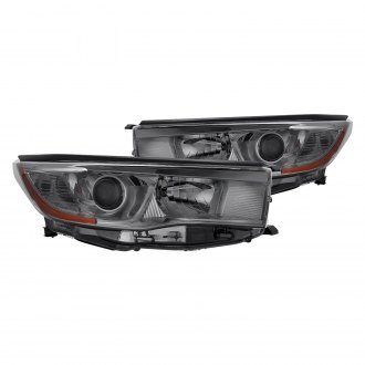 Lumen® - Chrome/Smoke Factory Style Projector Headlights