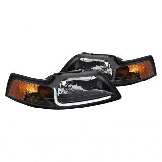 2000 ford mustang custom led headlights carid com 2000 ford mustang custom led headlights