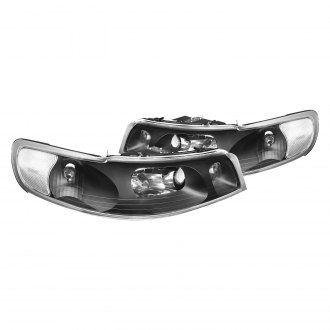1998 Lincoln Town Car Custom Factory Headlights Carid Com