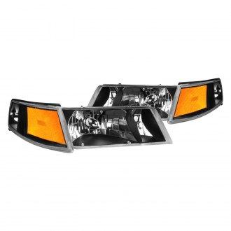 Lumen Black Factory Style Headlights