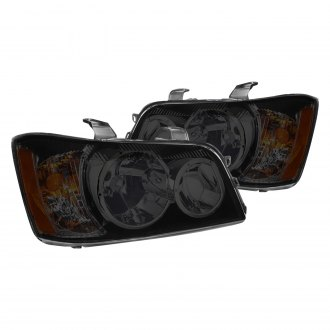 Lumen® - Chrome/Smoke Factory Style Headlights