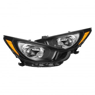 2012 hyundai accent custom factory headlights carid com rh carid com