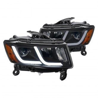 2015 Jeep Grand Cherokee Custom & Factory Headlights – CARiD com