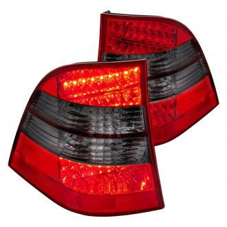 Lumen® - Chrome Red/Smoke Factory Style Tail Lights
