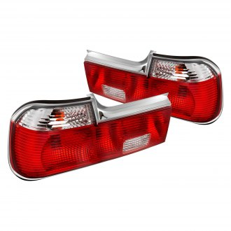 Lumen® - Chrome/Red Factory Style Tail Lights