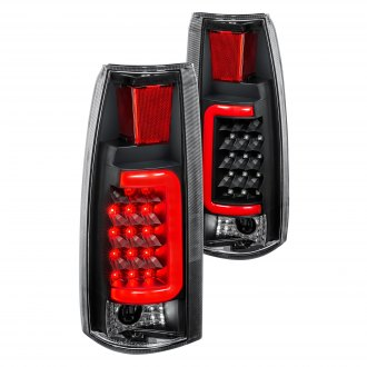 Lumen® - Black Fiber Optic LED Tail Lights