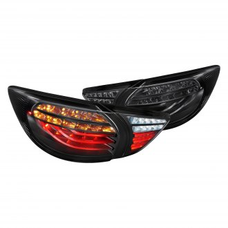 Lumen® - Black/Smoke Fiber Optic LED Tail Lights
