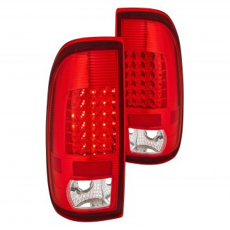 Lumen® - Chrome Red/Clear LED Tail Lights