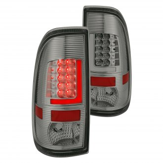 Lumen® - Chrome/Smoke Fiber Optic LED Tail Lights