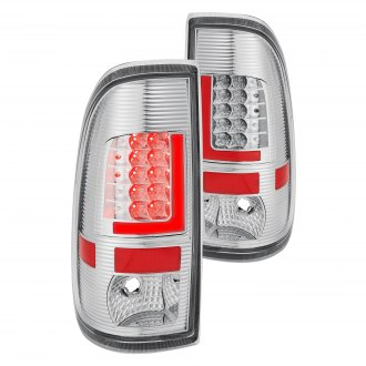 Lumen® - Chrome Fiber Optic LED Tail Lights