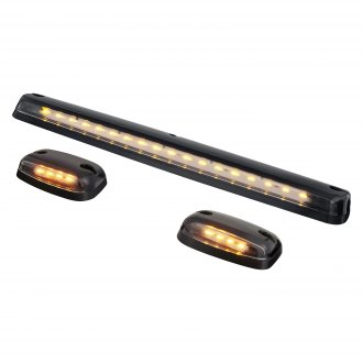 Lumen® - Black LED Cab Roof Lights