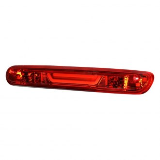 Lumen® - Chrome/Red Fiber Optic LED 3rd Brake Light