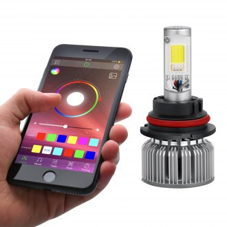 Lumen® - App Controlled RGB LED Headlight Conversion Kit