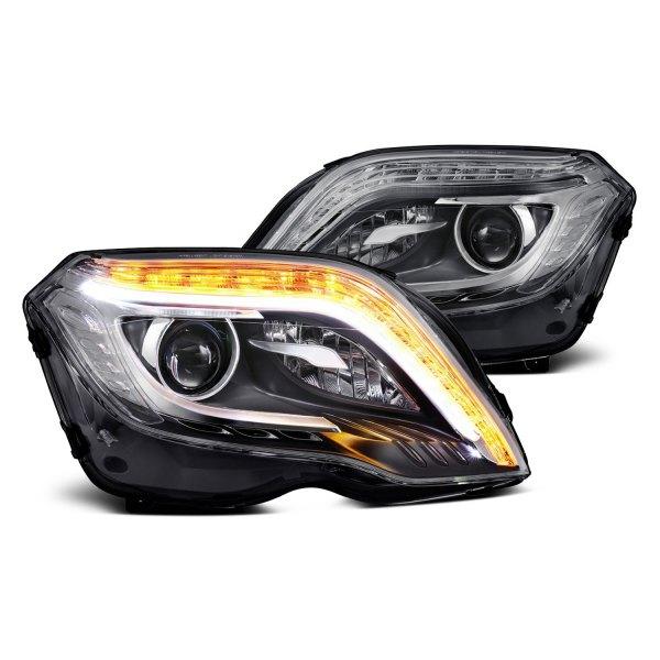 Lumen Black Halo Projector Led Headlights