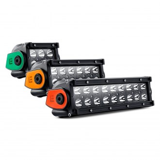 "Lumen® - Dual Row LED Light Bar with Illuminated End Caps (4"", 7"", 9.5"")"