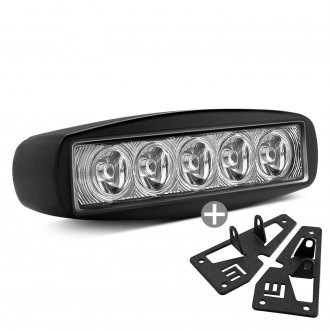 "Lumen® - 6""x2"" 15W LED Fog Light Kit"