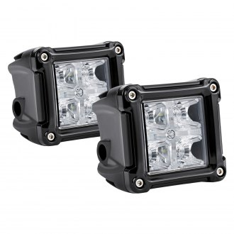 "Lumen® - 3"" Cube 20W LED Pod Lights with DRL"