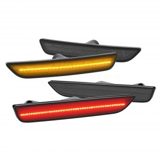 Lumen® - Black/Smoke LED Side Marker Lights
