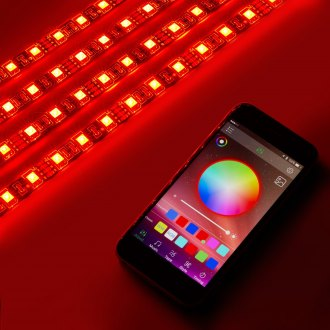 Lumen® - LED Accent Strip Kit with Bluetooth Control