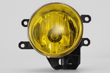 86-1001047 - Lumen® Yellow Factory Style Fog Lights, Featured 360 View (Full HD)