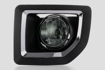 86-1001057 - Lumen® Smoke Factory Style Fog Lights, Featured 360 View (Full HD)