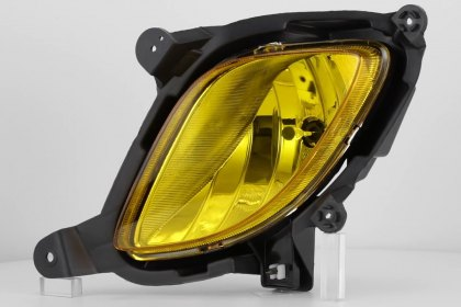 86-1001092 - Lumen® Yellow Factory Style Fog Lights, Featured 360 View (Full HD)