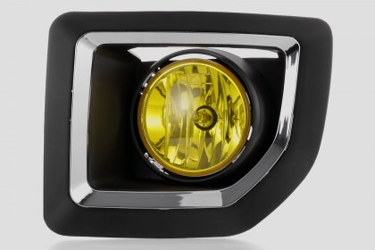 86-1001177 - Lumen® Yellow Factory Style Fog Lights, Featured 360 View (Full HD)
