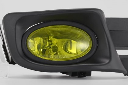 86-1001245 - Lumen® Yellow Factory Style Fog Lights, Featured 360 View (Full HD)