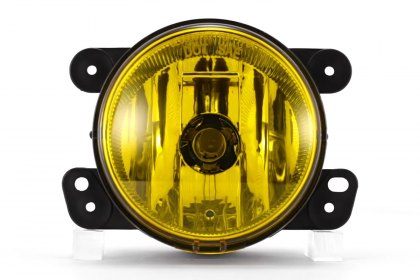 86-1001573 - Lumen® Yellow Factory Style Fog Lights, Featured 360 View (Full HD)