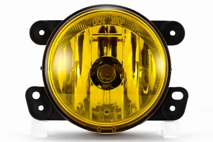 86-1001580 - Lumen® Yellow Factory Style Fog Lights, Featured 360 View (Full HD)
