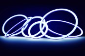 Lumen® - Blue LED Halo Rings