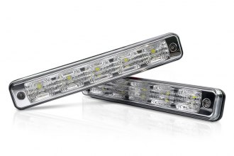 "Lumen® LUDRLA1 - 7.5"" Length LED Daytime Running Lights with Auto On/Off"