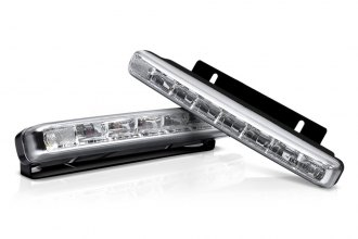 "Lumen® LUDRLC5 - 6.3"" Length LED Daytime Running Lights with Auto On/Off"