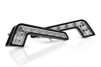 "Lumen® LUDRLF2 - 6.3"" Length ""L"" Shape LED Daytime Running Lights"