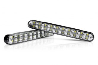 "Lumen® LUDRLY1 - 7.5"" Length LED Daytime Running Lights with Turn Signals and Dim Function"