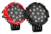 "Lumen® - 6.25"" Round 51W LED Off-Road Driving Light"