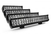 "Lumen® - Dual Row Spot LED Light Bar (9"", 12"", 15"",18"")"