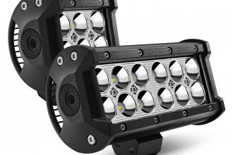 "Lumen® - Dual Row Short LED Light Bar (3.89"", 6.5"")"