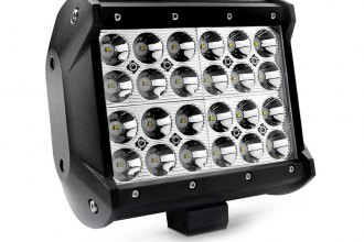 "Lumen® - 6.5"" Long, 72 Watt Quad Row Short LED Light Bar"