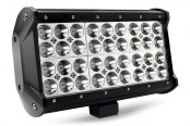 "Lumen® - 6.5"" Long, 72 Watt Quad Row Short LED Light Bar - Rear View"