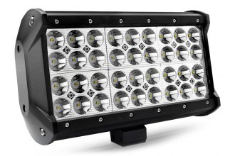 "Lumen® - 9.25"" Long, 108 Watt Quad Row Short LED Light Bar"