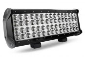 "Lumen® - 12"" Long, 144 Watt Quad Row Long LED Light Bar - Rear View"