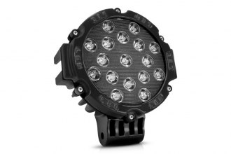 Lumen® - 51 Watt LED Black Round Off-Road Driving Light