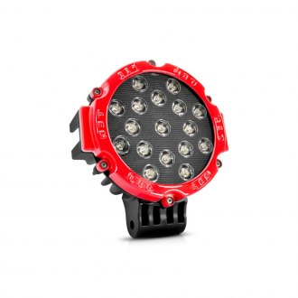 Lumen OR2012ERED - 51 Watt LED Red Round Off-Road Driving Light