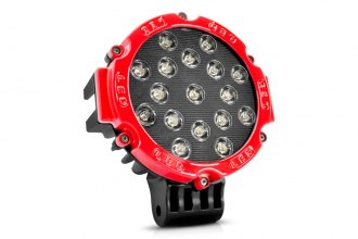 Lumen® - 51 Watt LED Red Round Off-Road Driving Light