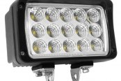 "Lumen® - 6.2"" x 3.75"" Rectangular 45W LED Off-Road Driving Light"