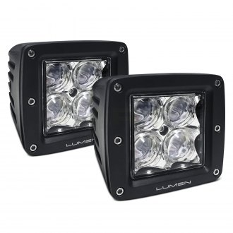 "Lumen® - 3"" Square 4D Optic 20W LED Pod Lights"