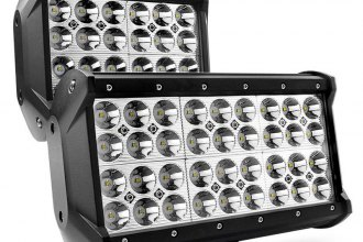 "Lumen® - Quad Row Short LED Light Bar (6.5"", 9.25"")"