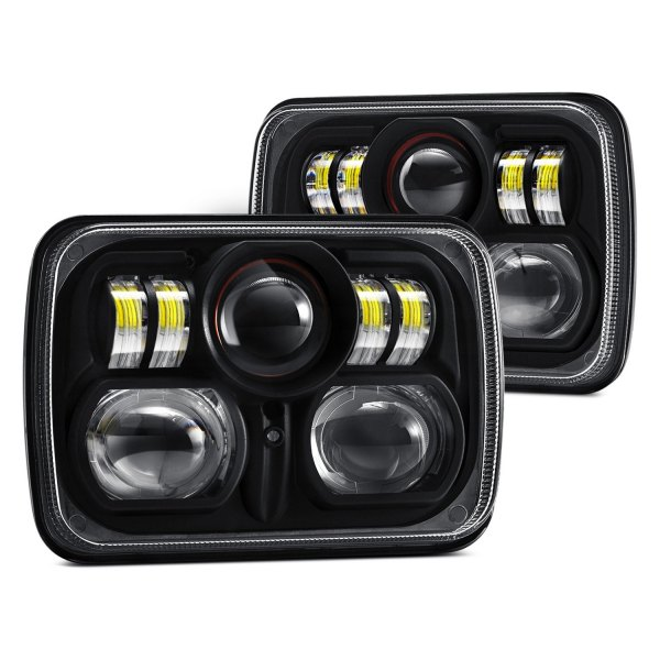 Led Headlights Sealed Beam Tractor : Projector headlights autos post